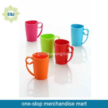 Plastic Couple Coffee Mug With Handle
